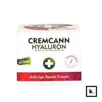 Annabis Cremcann Hyaluron konopny krem nawilżający z kwasem hialuronowym - 50 ml