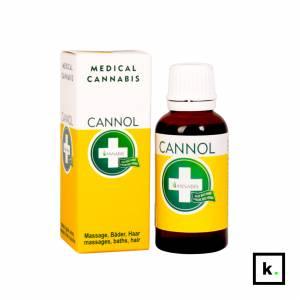 Annabis Cannol olej konopny (masaż, kąpiel, włosy) - 30 ml