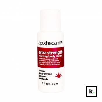 Apothecanna extra strength relieving krem z CBD 0,041% przeciwbólowy ekstra silny - 60 ml