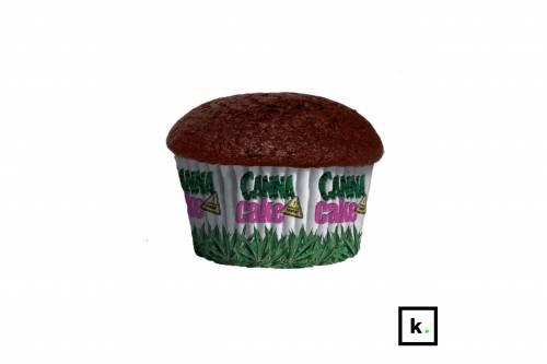 CannaShock CBD Bomb czekoladowa babeczka konopna z CBD – 100 g