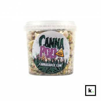 CannaShock Cannapop popcorn o smaku konopi – 1 l