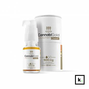 CannabiGold Intense olej CBD z ekstraktem CO2 30% CBD - 12 ml