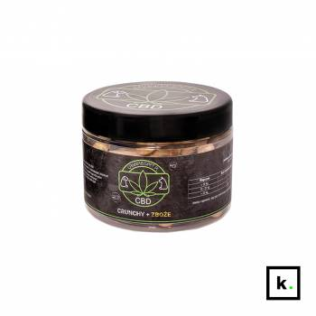 Cannabispet ciastka dla psa z CBD crunchy + zboże – 130 g