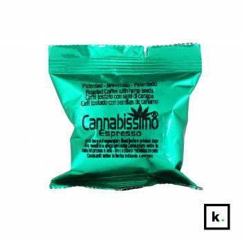 Cannabissimo Coffee kawa konopna mielona kapsułka Nespresso - 5 g