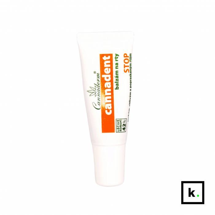 Cannaderm Cannadent balsam z konopi do ust wrażliwych i na opryszczkę - 6 g