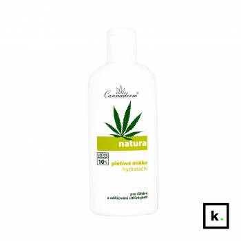 Cannaderm Natura24 mleczko konopne do demakijażu - 200 ml