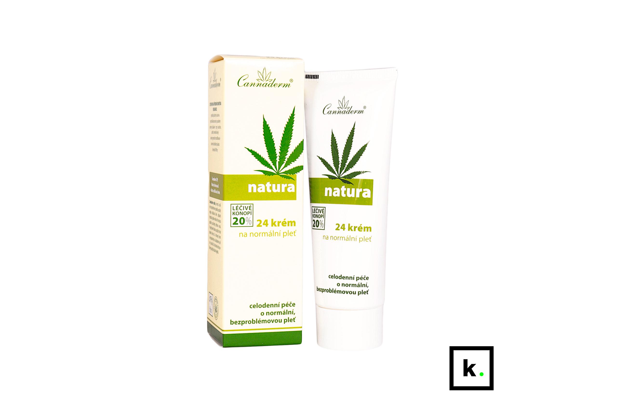 Cannaderm Natura24 konopny krem do skóry normalnej - 75 g