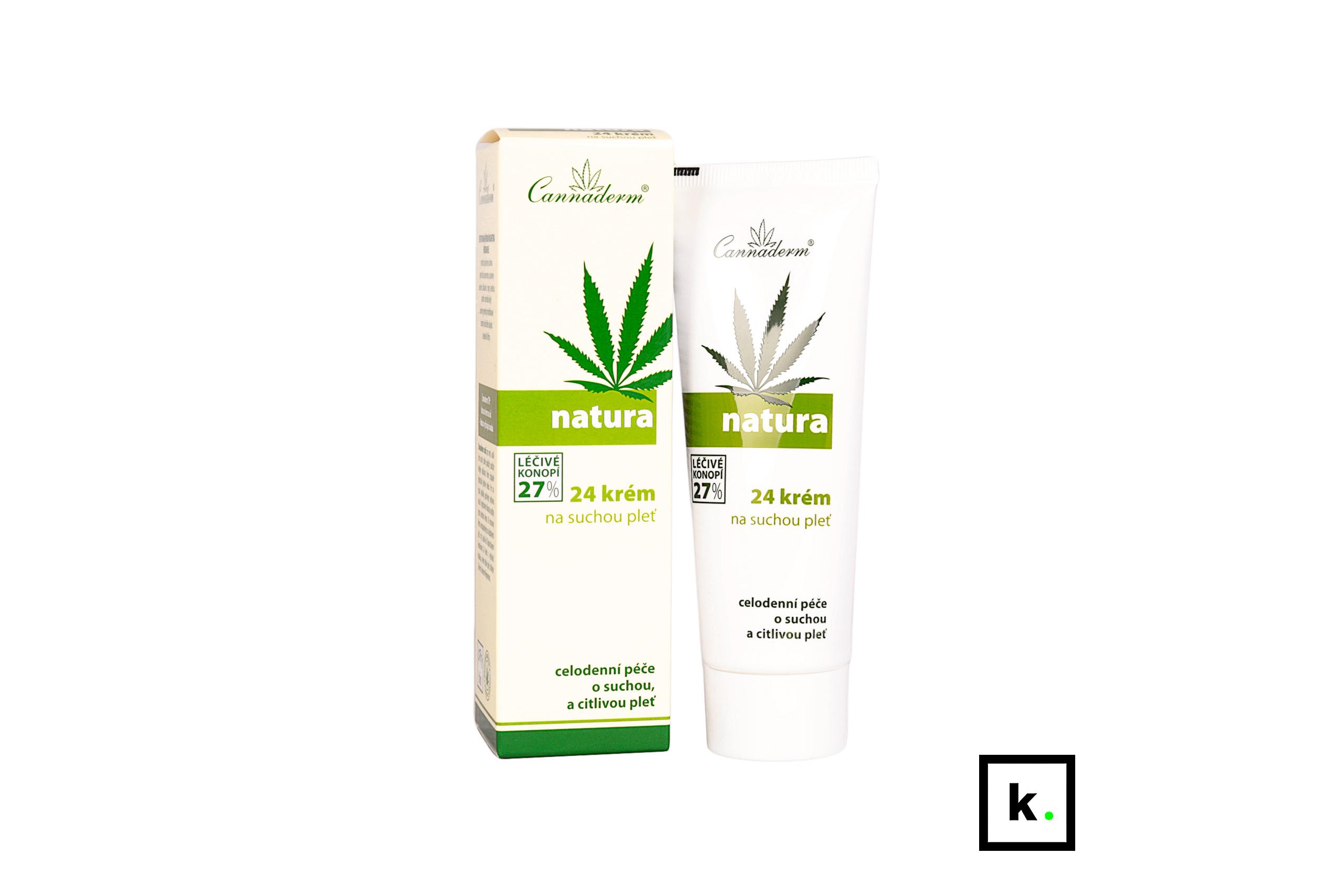Cannaderm Natura24 konopny krem do skóry suchej i wrażliwej - 75 g