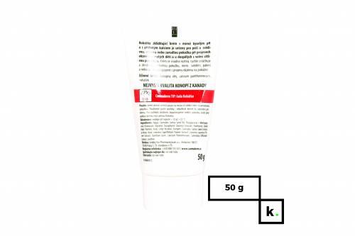 Cannaderm Robatko konopny krem kojący z lekko kwaśnym pH dla dzieci - 50 g