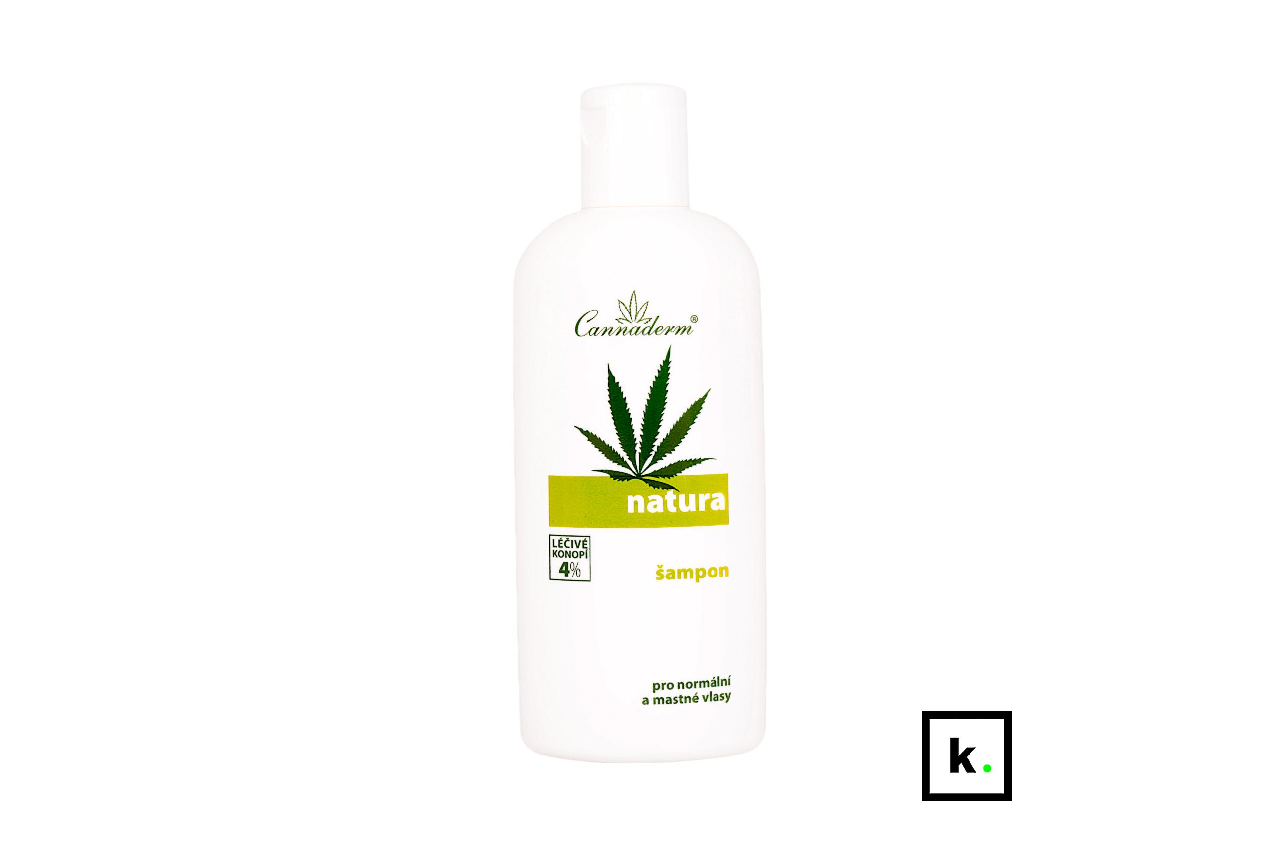 Cannaderm Natura24 szampon z konopi do włosów normalnych i przetłuszczających się - 200 ml