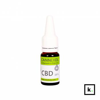 Cannhelp Cannexol olej CBD 2,5% - 10 ml