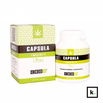 CBDex kapsułki z konopi Imunit 5 mg - 60 sztuk