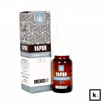 CBDex Vapor Onkovit 5% płyn do inhalacji z CBD - 10 ml