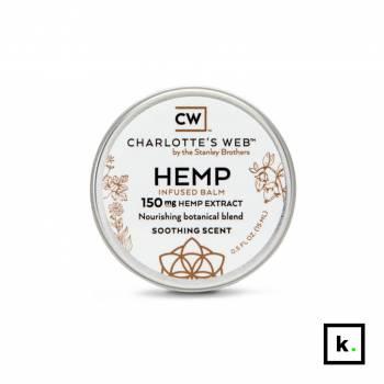 Charlotte's Web kojąca maść z ekstraktem z konopi 150 mg – 15 ml