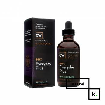 Charlotte's Web Everyday Plus olej CBD czekolada z miętą 500 - 100 ml