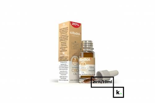 Cibdol olej CBD 20% - 10 ml