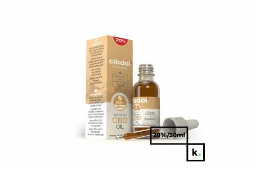 Cibdol olej CBD 20% - 30 ml