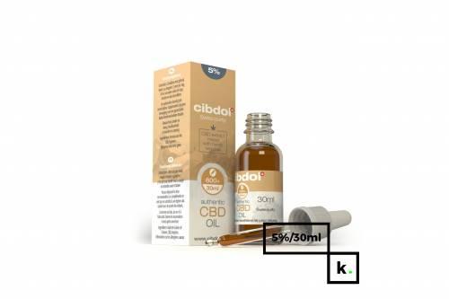 Cibdol olej CBD 5% - 30 ml