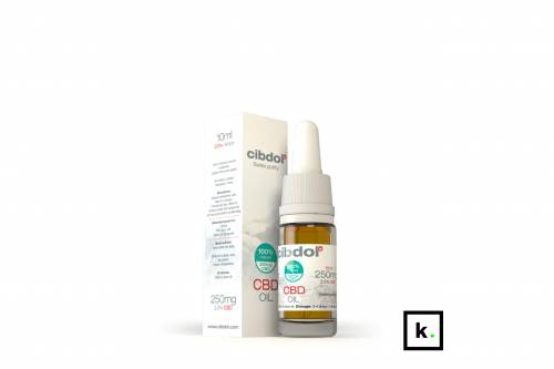 Cibdol Swiss purity olej CBD 4% - 50 ml