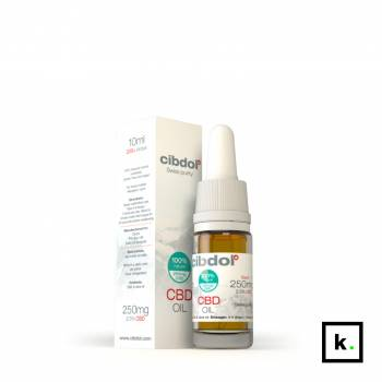 Cibdol Swiss purity olej CBD 2,5% - 10 ml