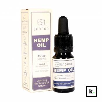 Endoca olej CBD 15% - 10 ml