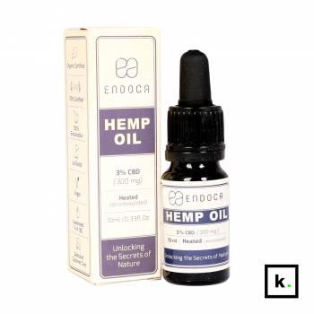 Endoca olej CBD 15% - 10 ml