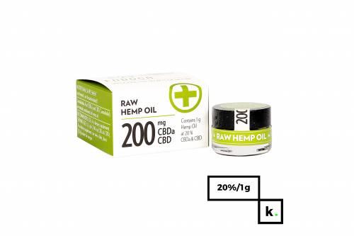Endoca pasta CBD/CBDa 20% RAW - 1 g
