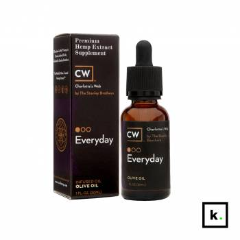 Charlotte's Web Everyday olej CBD w oliwie z oliwek 200 - 100 ml