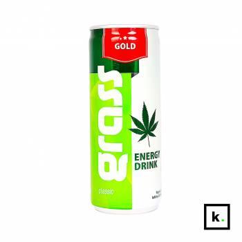 Gold Grass napój energetyczny z ekstraktem z ziaren konopi - 250 ml