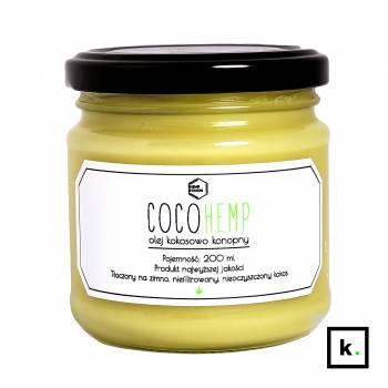 HempFoodie CocoHemp olej kokosowo-konopny - 200 ml