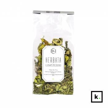 HempFoodie herbata z całych liści konopi - 15 g