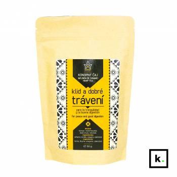 Hempoint herbata konopna wspomagająca trawienie - 50 g