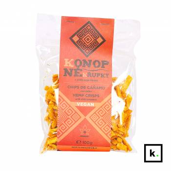 Hempoint konopne chrupki z chilli - 100 g