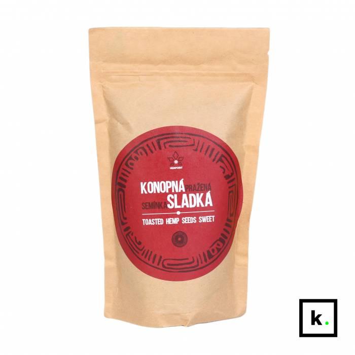 Hempoint prażone nasiona konopi słodzone - 150 g