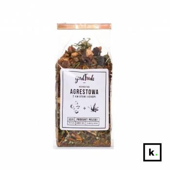 GoodFoods herbata konopno-agrestowa