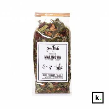 GoodFoods herbata konopno-malinowa - 100 g