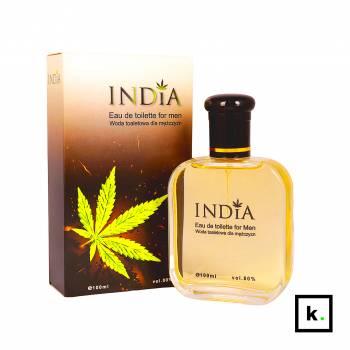 India Cosmetics woda toaletowa o zapachu konopi dla mężczyzn - 100 ml