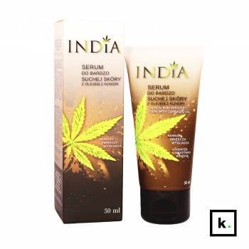 India Cosmetics serum z olejem z konopi - 50 ml