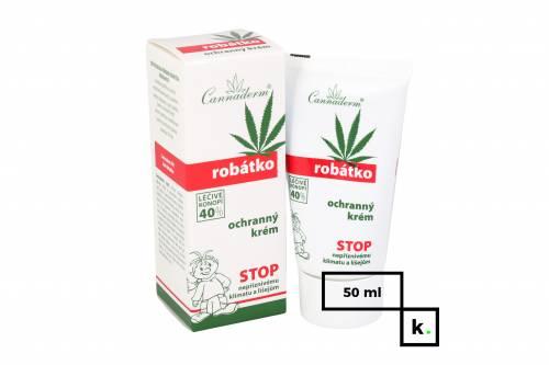Cannaderm Robatko krem ochronny dla dzieci z konopi - 50 ml