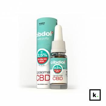 Cibdol olej CBD liposomalny 2,5% - 10 ml
