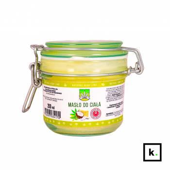 Markon masło do ciała kokosowo-konopne - 200 ml