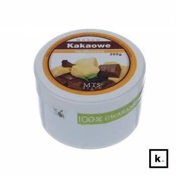 Masło kakaowe nierafinowane - 200 g