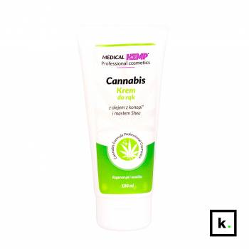 Medical Hemp Cannabis konopny krem do rąk - 100 ml