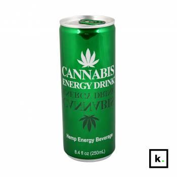 Cannabis Energy Drink konopny napój energetyczny smak original - 250 ml