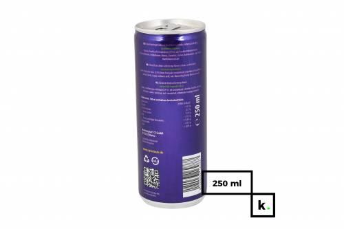 Zero-Bock napój energetyczny z ekstraktem z kwiatów konopi - 250 ml