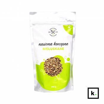 Dobre Konopie niełuskane nasiona konopi - 250 g
