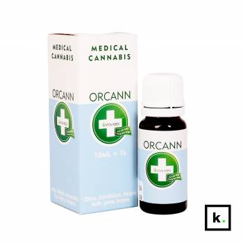 Annabis Orcann konopny płyn do płukania jamy ustnej - 10 ml