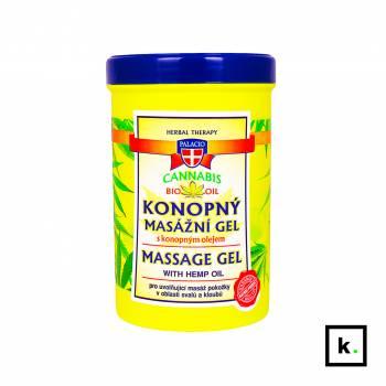 Palacio ziołowy żel do masażu z olejem konopnym 5% - 380 ml
