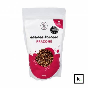 Dobre Konopie nasiona konopne prażone - 200 g