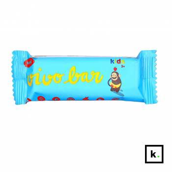 Vivo Food Kids raw baton bananowo-jabłkowy z konopiami dla dzieci w wieku 3+ - 45 g